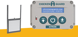 Portiers automatiques ChickenGuard