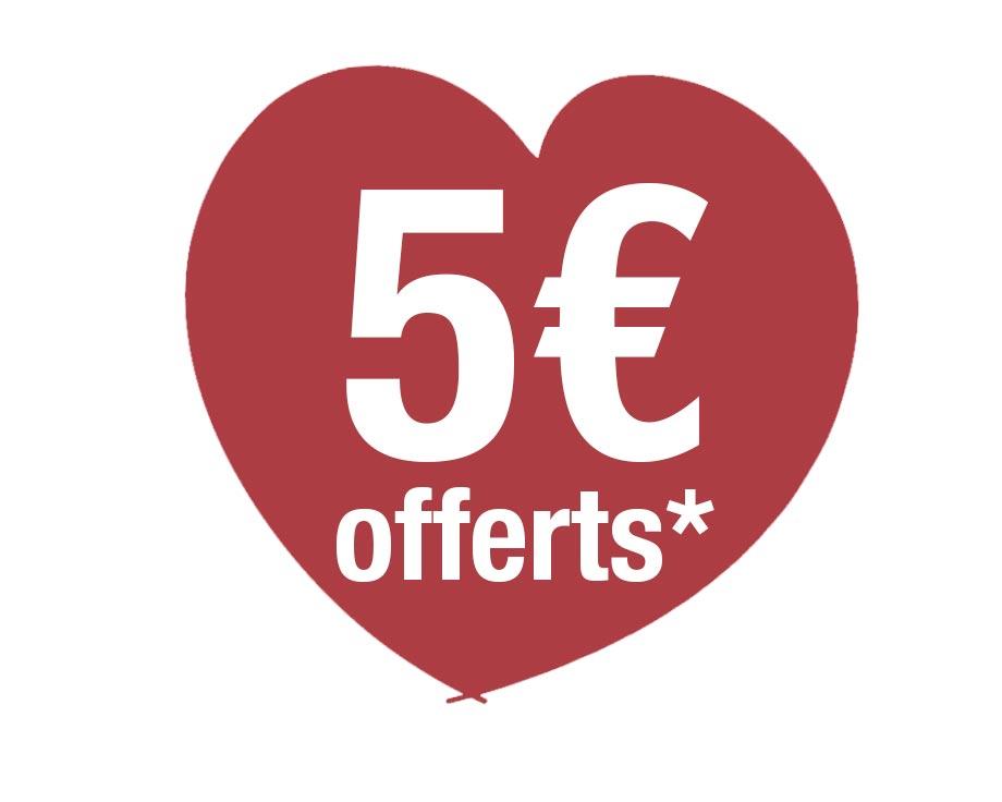 Remise de 5€