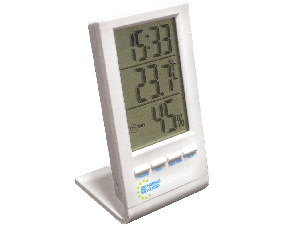 Thermomètre hygromètre à affichage digital
