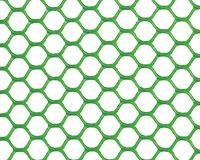 Grillage hexagonal plastique vert