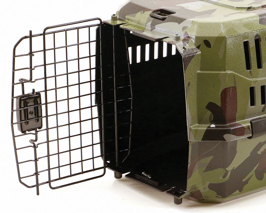 Boite de transport camouflage taille S