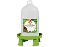 Abreuvoir double cylindre sur pieds 12 litres