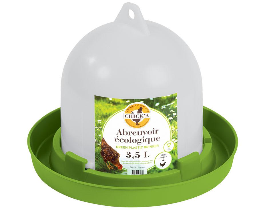 Abreuvoir siphoïde 3,5 L