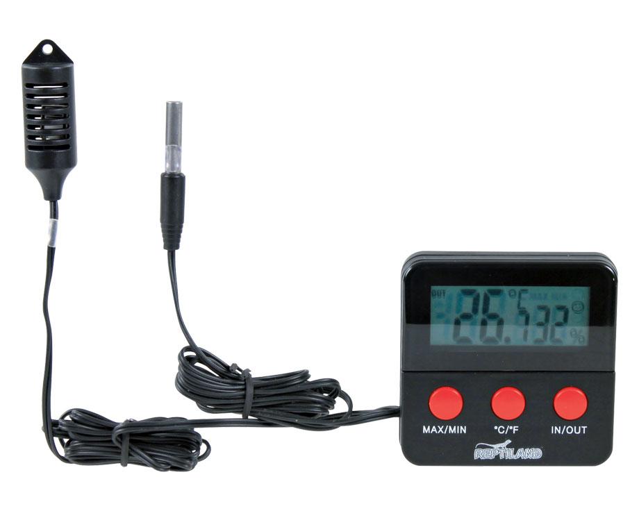 Thermomètre hygromètre digital à sonde