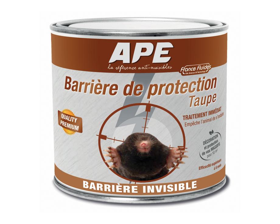Barrière de protection Taupe