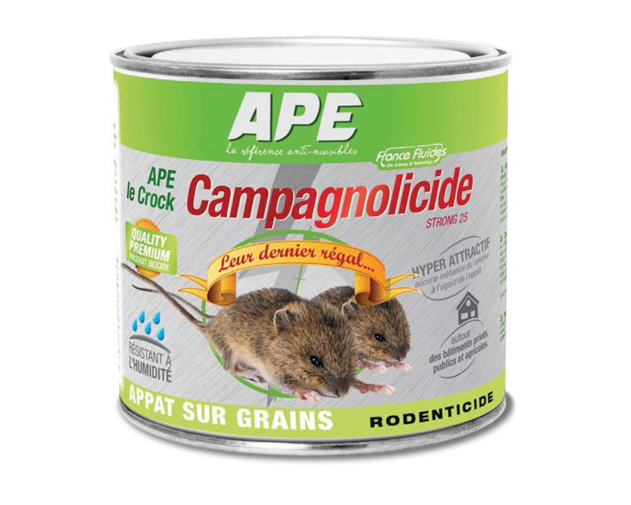 Campagnolicide le Crock granulés
