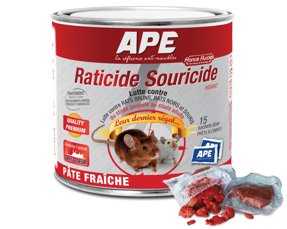 Raticide Souricide Patarat