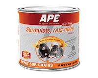 Surmulots, rats noirs Strong 25