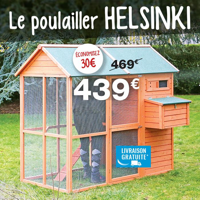 Poulailler en bois Helsinki