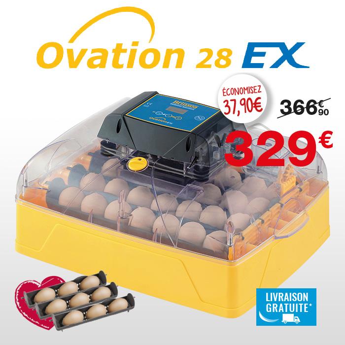 Couveuse automatique Brinsea Ovation 28 EX