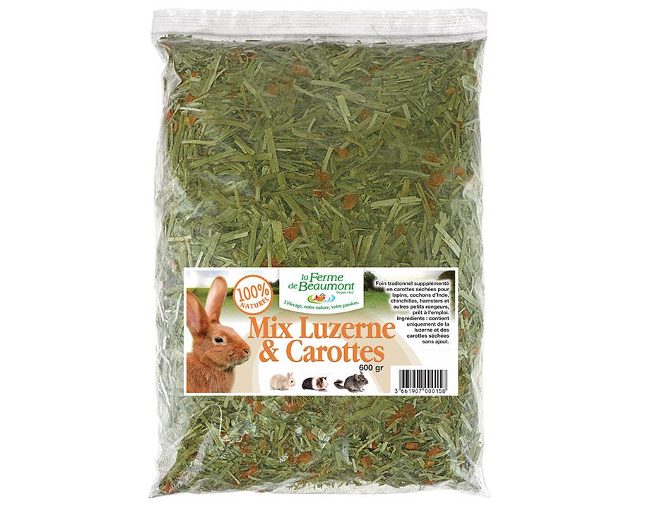Mix Luzerne & carottes