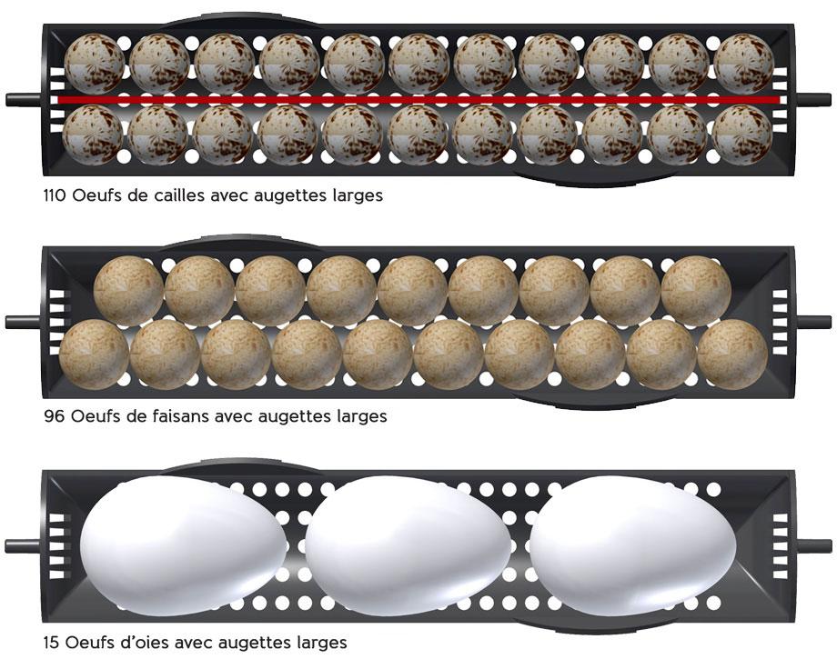 Couveuse Brinsea Ovation 56 EX + Lot de 5 augettes larges OFFERTES