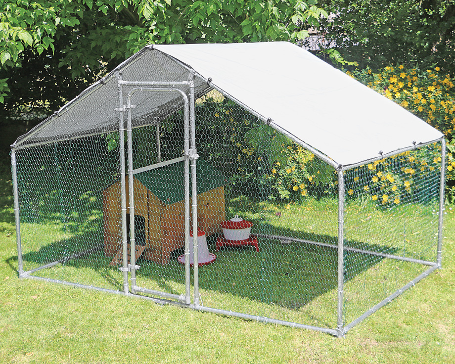 Enclos de protection volailles