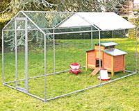 Parc de protection volailles