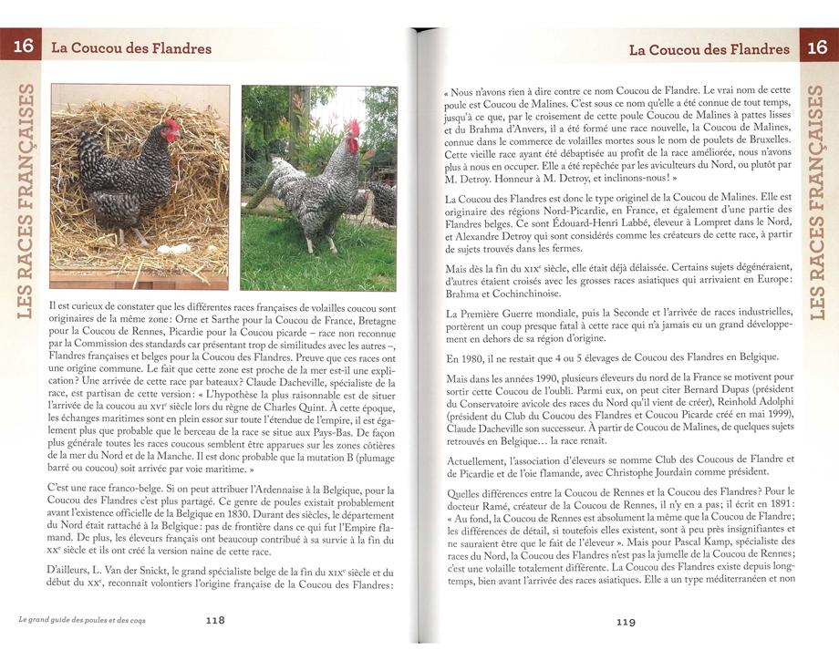 Livre Le grand guide des poules et des coqs