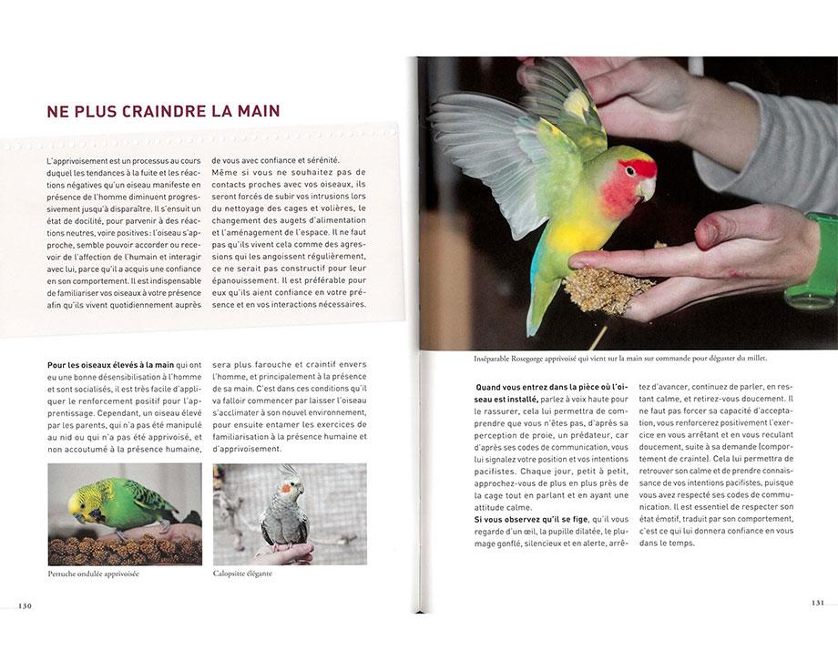 Livre Le bien-être des perruches et des perroquets