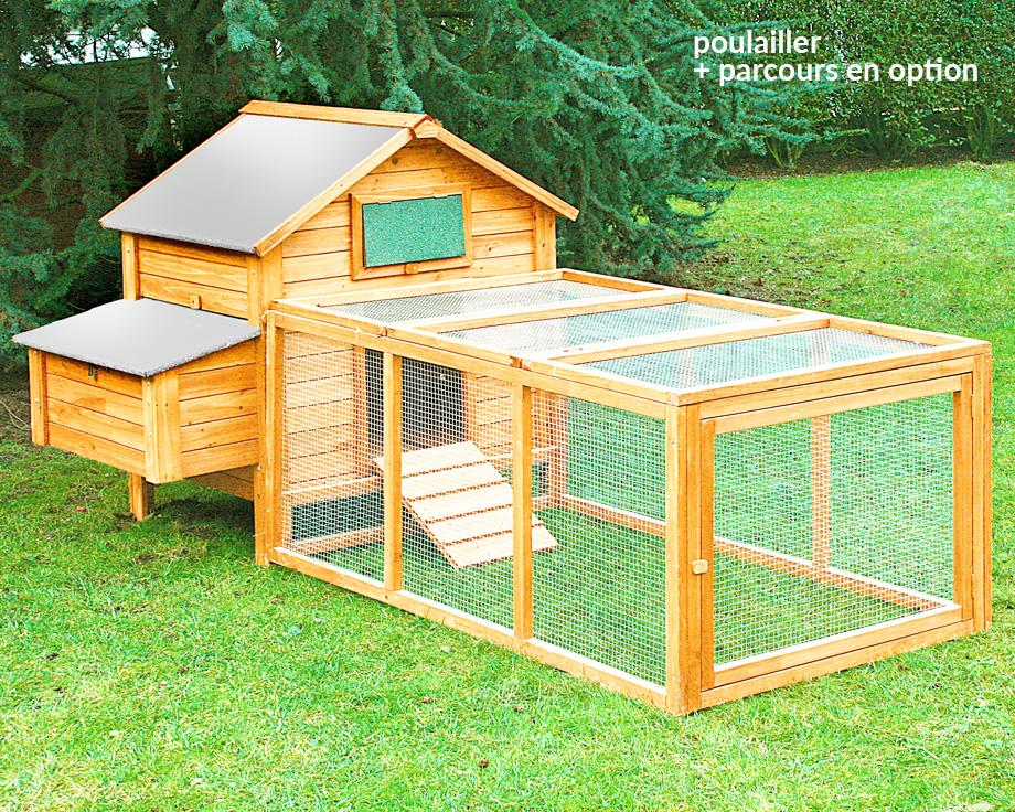 Poulailler Island Premium
