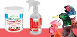 Produits de soins : protégez vos volailles