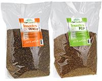 Insectes séchés Crunchy 750 gr + Insectes soufflés Pop 375 gr