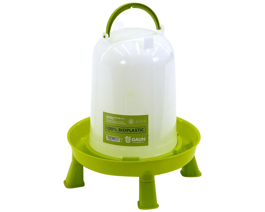Abreuvoir bioplastique sur pieds 10 litres Gaun