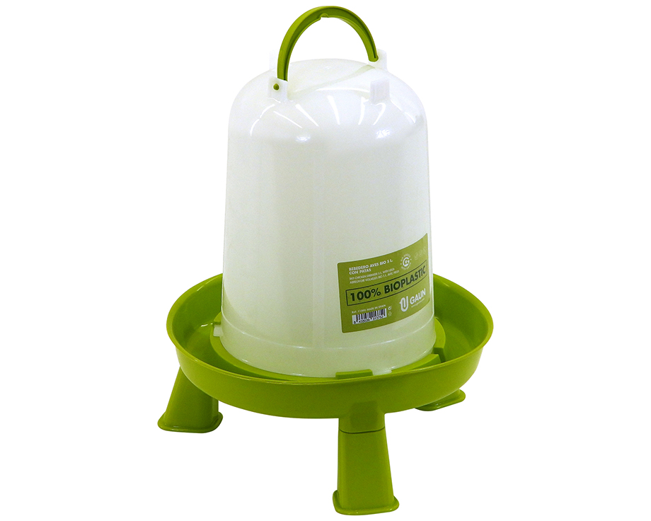 Abreuvoir bioplastique sur pieds 5 litres Gaun