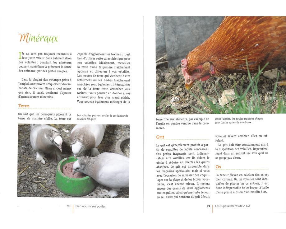 Livre Bien nourrir ses poules