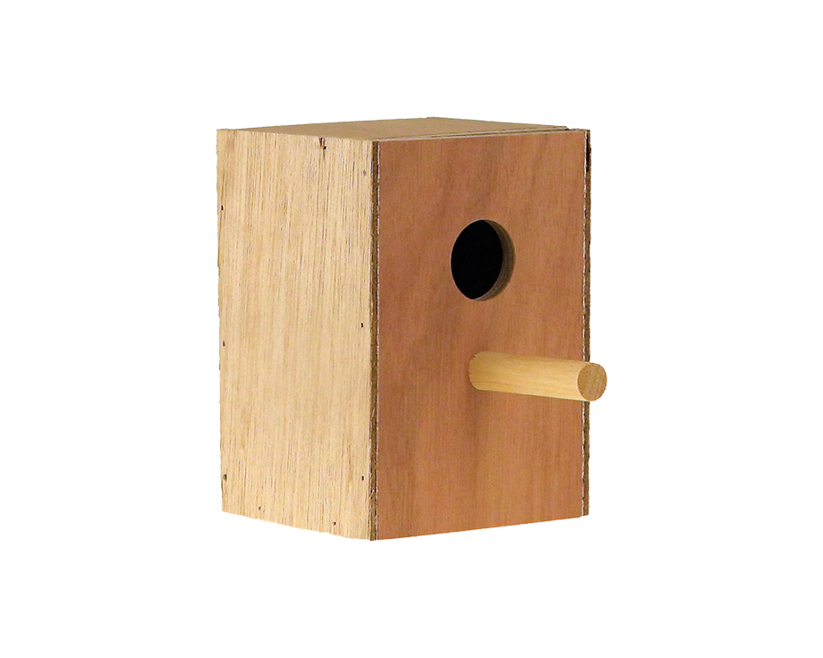 Nid en bois Oiseaux exotiques