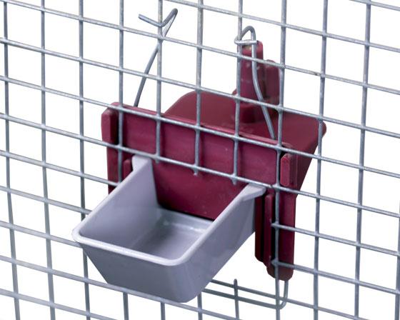 abreuvoir automatique de cage et voli re pour oiseaux lapin d montable la ferme de beaumont. Black Bedroom Furniture Sets. Home Design Ideas