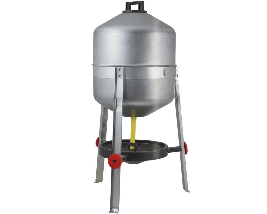 Abreuvoir galvanisé 30 litres
