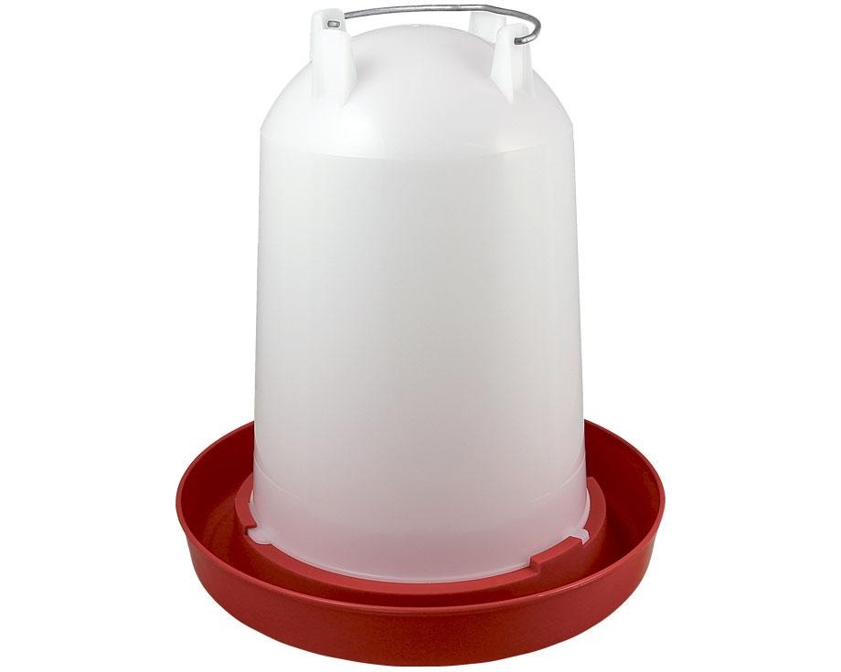 Abreuvoir volaille plastique 10 litres