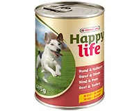 Happy Life Adult with Beef & Turkey