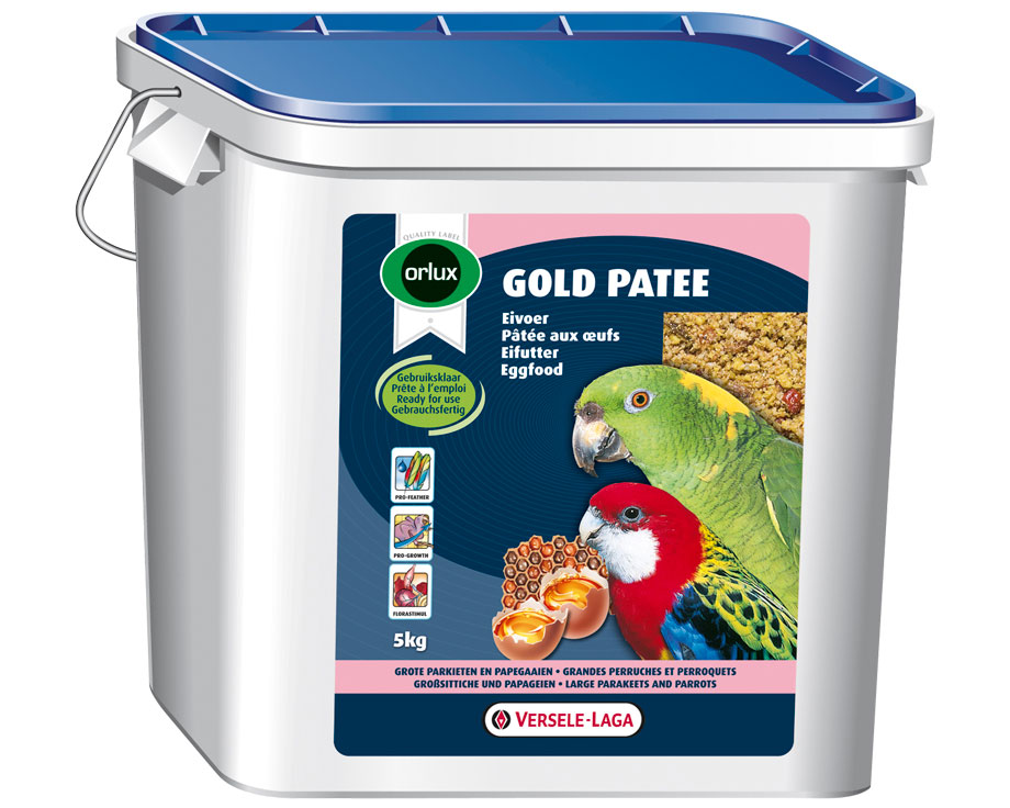 Gold Pâtée grandes perruches et perroquets