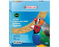 P�t�e aux oeufs s�che oiseaux exotiques 1 kg - le lot de 5