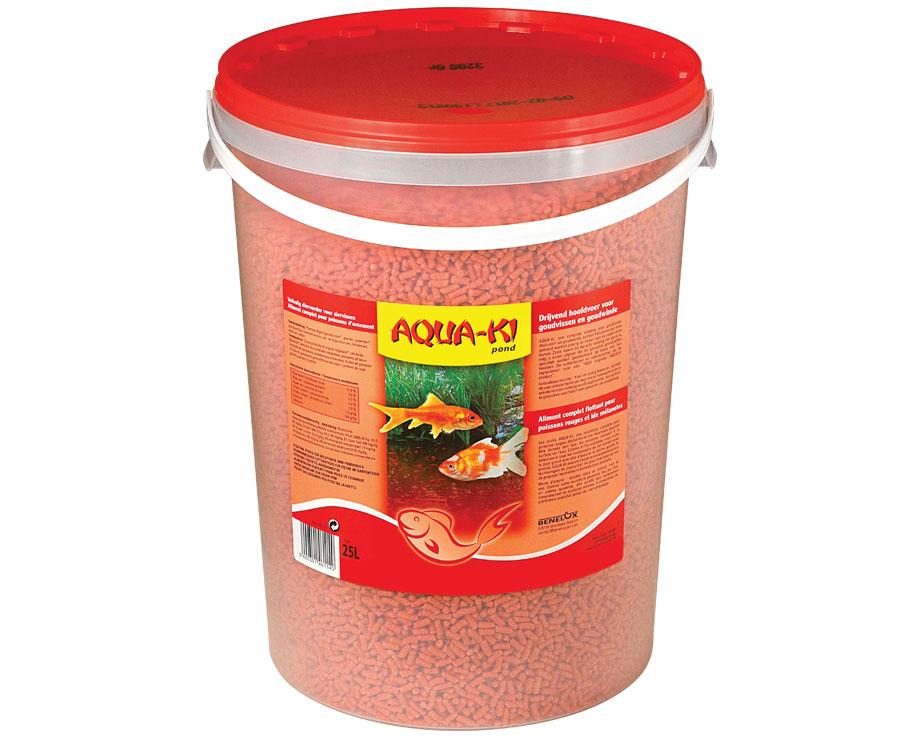 Aliment poissons sticks rouge benelux aqua ki 25 litres for Aliment pour poisson rouge