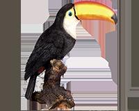 Toucan en résine