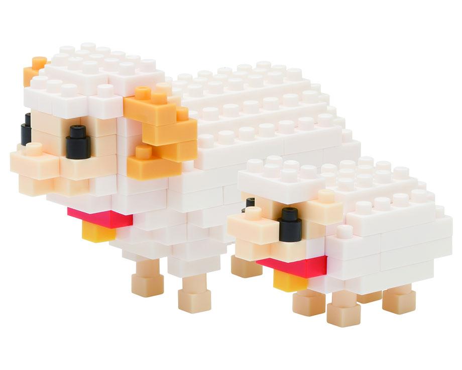 Nanoblock Mouton avec son agneau