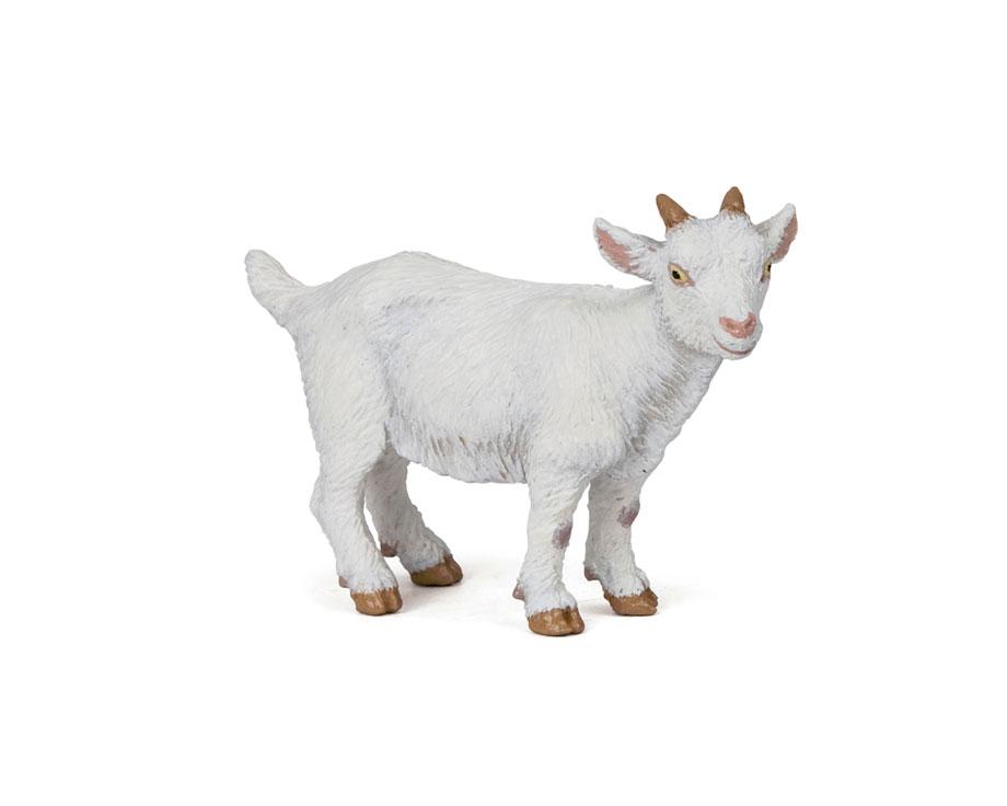 Figurine Papo Chevreau blanc