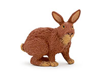 Figurine Papo Lapin marron