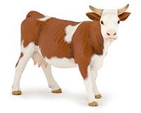 Figurine Papo Vache Simmental