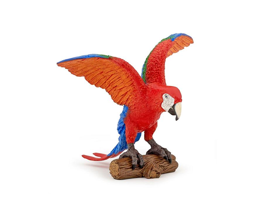 Figurine Papo Perroquet Ara
