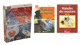 Livres Maladies des animaux