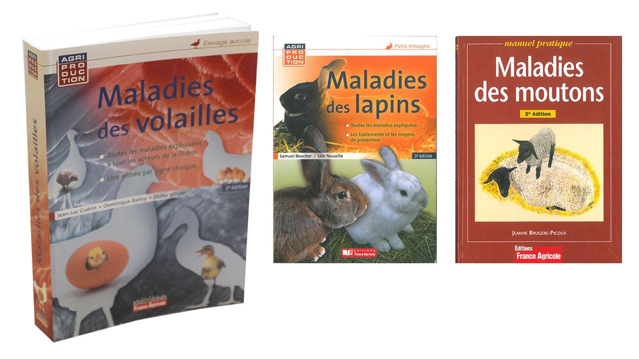 Livres maladies des animaux la ferme de beaumont for Les maladies des volailles