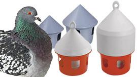 Abreuvoirs pigeons, distributeurs d'eau pour l'élevage des pigeons
