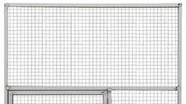 Panneaux cadre aluminium