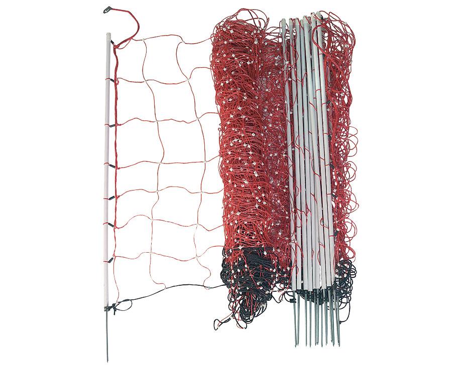 filet border net rouge la ferme de beaumont filets. Black Bedroom Furniture Sets. Home Design Ideas
