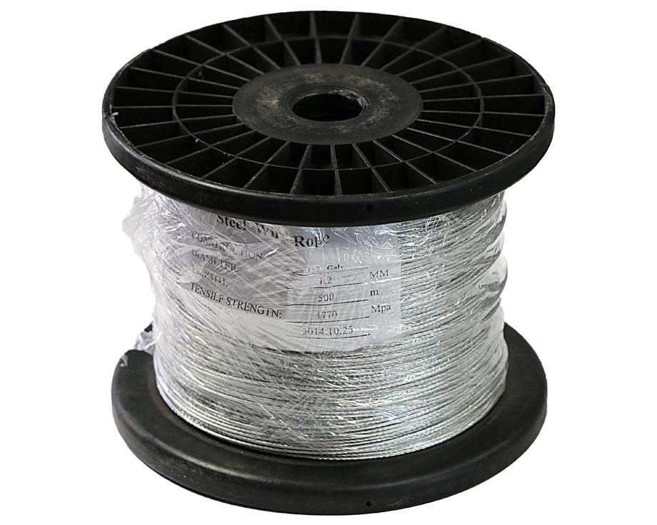 Câble acier galvanisé 500 m