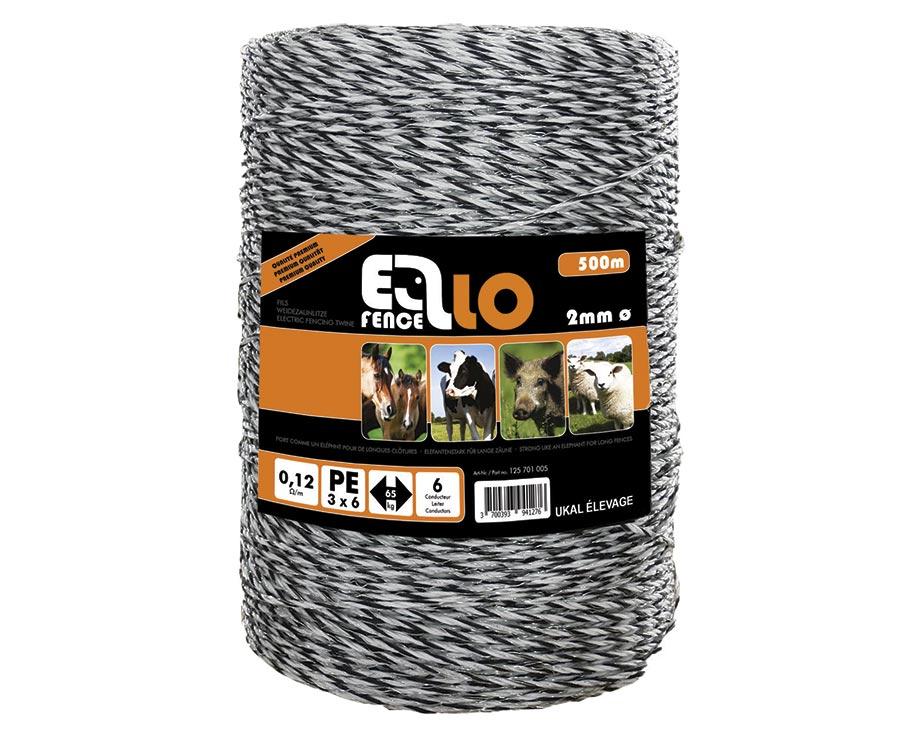 Fil électrique Ellofence 500 m