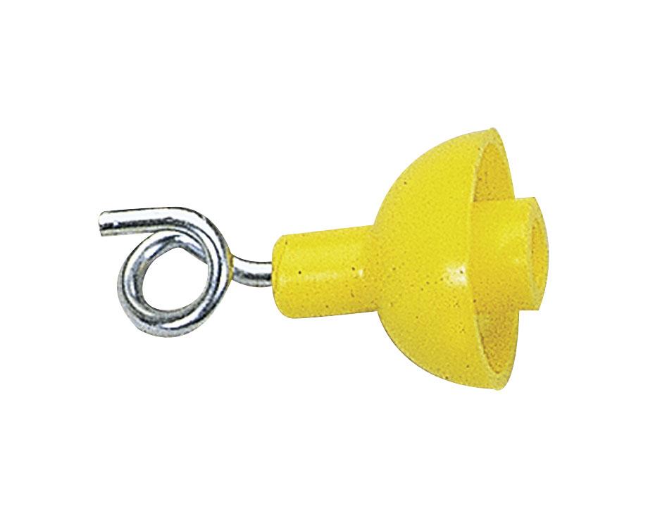 Isolateur tire-bouchon métal