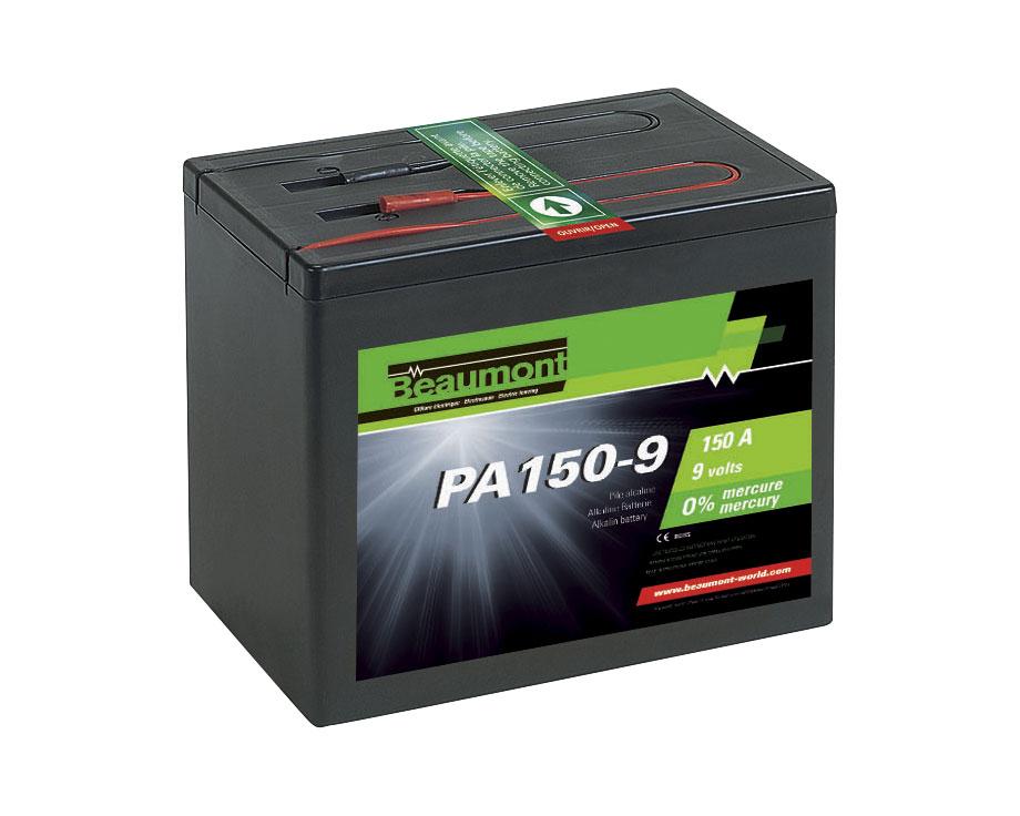 Pile alcaline Beaumont 9V 150A