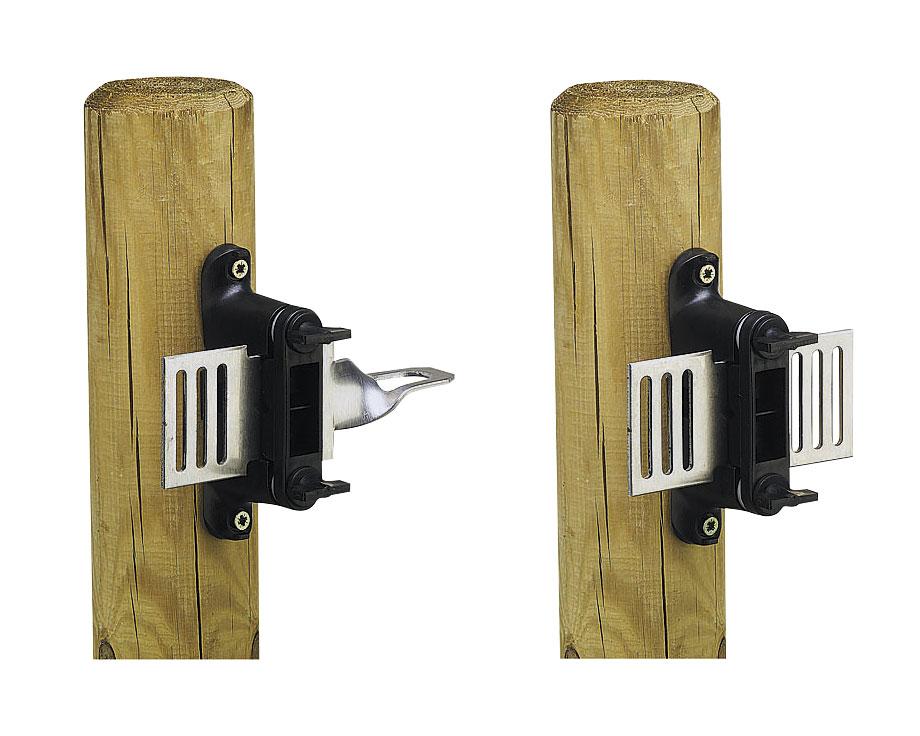 Kit IGPB 2 plaques d'ancrage et 2 isolateurs RBCH